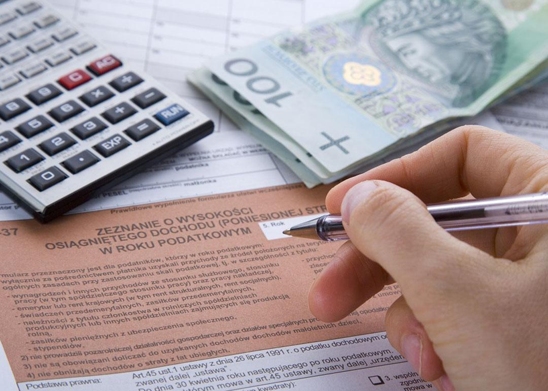 Wyliczanie należnych podatków